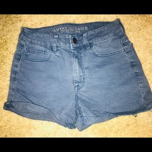 American Eagle High Waist Shortie Short